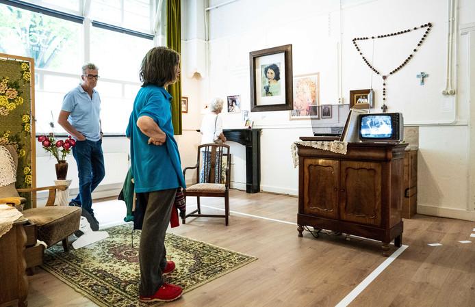Eerder dit jaar was er een pop-upmuseum over Mary Servaes - Bey in Leiden