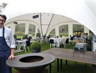"""Restaurant Decan wordt even bar Decan in tent op grasplein van toeristische dienst: """"Streetfood met een vleugje gastronomie"""""""