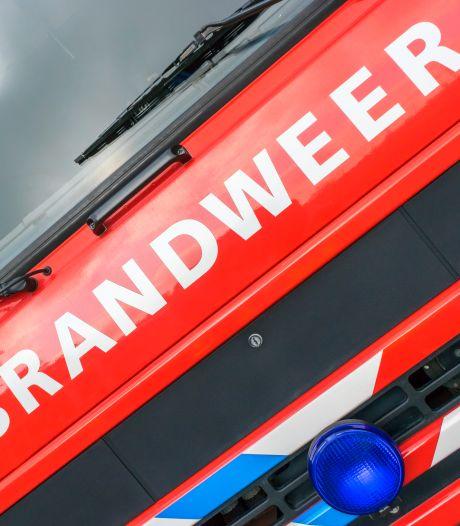 Brand bij recyclingbedrijf in Roosendaal