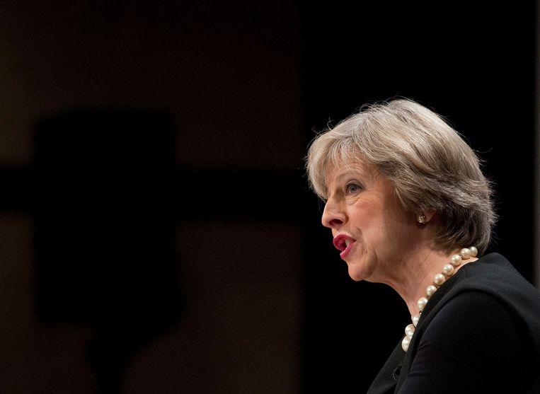 Theresa May. Beeld Photo News