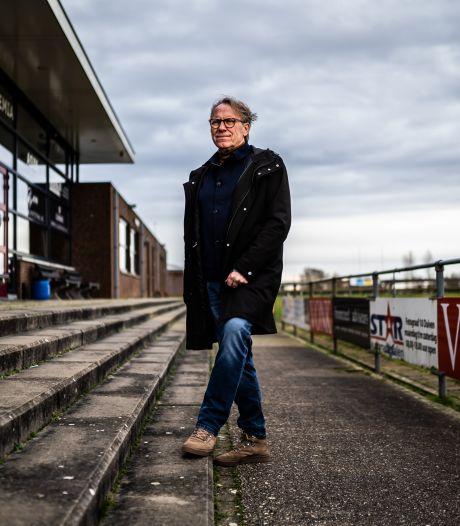 Dood en corona tekenen het jaar van voetbalvoorzitter Henk Bouwman van Arnhemia: 'Het doet wat met je'