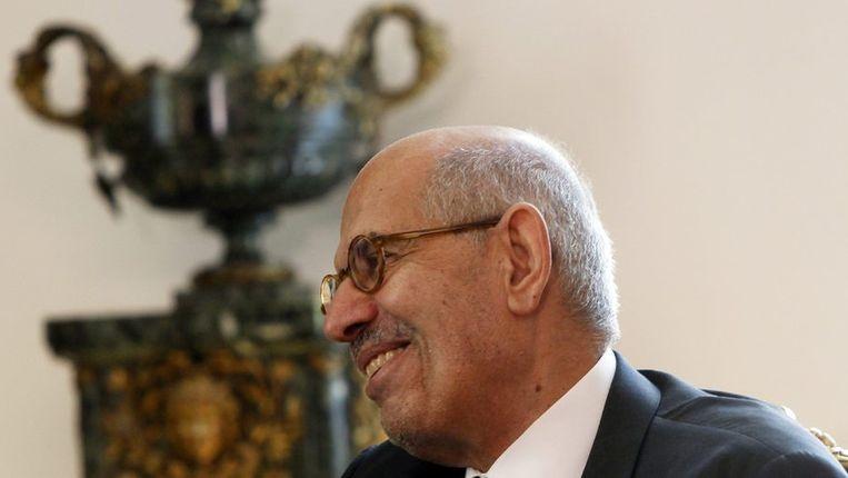 Mohammed ElBaradei. Beeld REUTERS