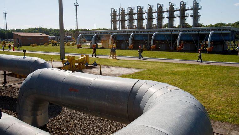 De gesprekken over gaslevering tussen Rusland en Oekraïne eindigen deze week Beeld afp