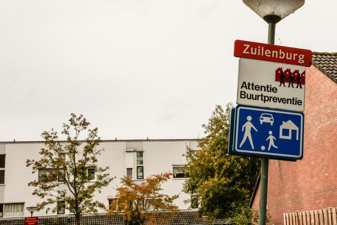 Schietpartij in de Zuilenburg in Sterrenburg, Dordrecht.