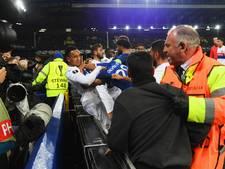 Everton beboet voor fan die klap uitdeelde aan speler Lyon