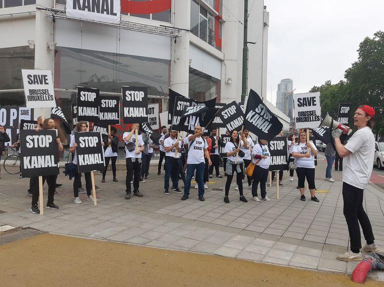 Kanal deed vorige week nog een (dubbelzinnige) performance: ze willen niet zomaar een ander museum zijn in Brussel.