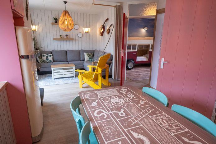 De vernieuwde huisjes van Center Parcs in Zandvoort.