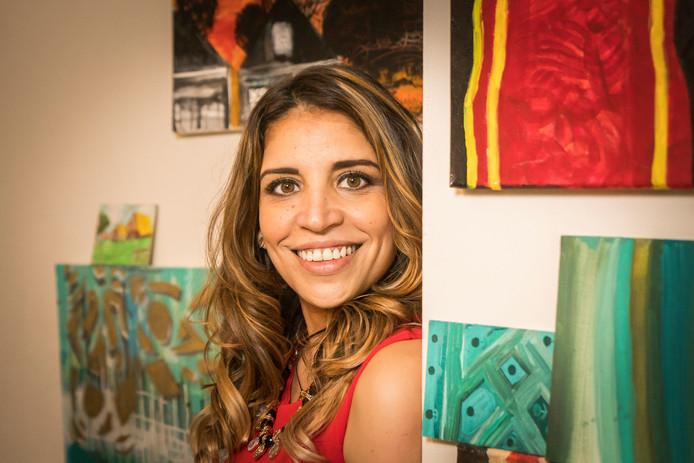 Aliana Almao (38) voltooide voor haar dood nog het boek, dat bij haar driejarige dochtertje Olivia de herinneringen aan haar moeder levendig moet houden.