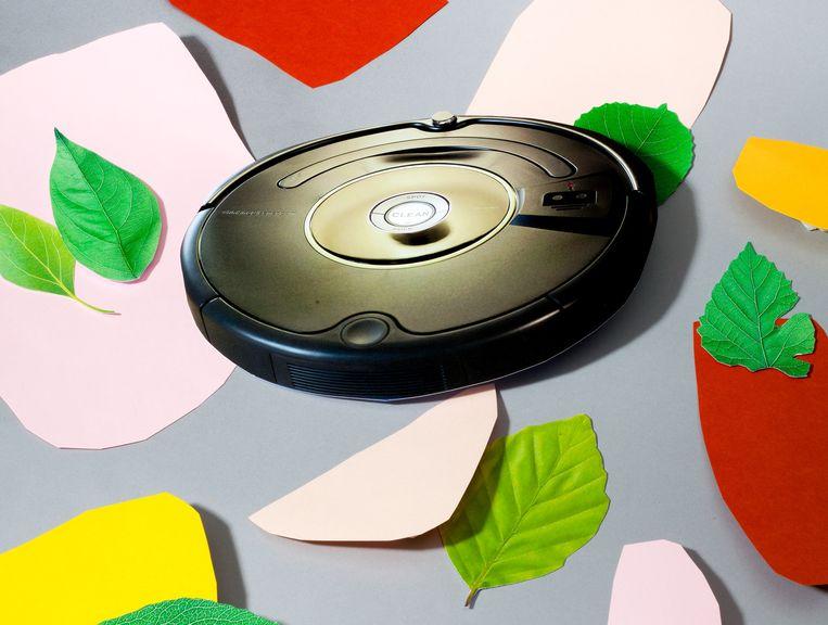 De robotstofzuiger Roomba. Beeld Lauren Hillebrandt