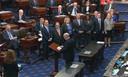 Het afzettingsproces tegen de Amerikaanse president Donald Trump in de Senaat is vandaag formeel van start gegaan.