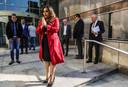 First Lady Mellissa Santokhi was vorig jaar september op bezoek in Diemen