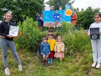 Schoolkinderen maken kunstwerken voor volksfeest 'SAMen Feest'
