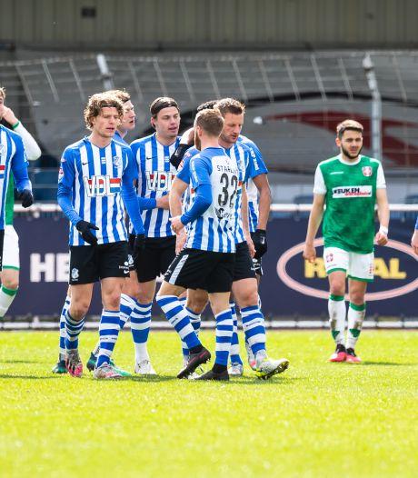 Na 114 dagen eindelijk winst voor FC Eindhoven: FC Dordrecht dik geklopt in wispelturig winters weer