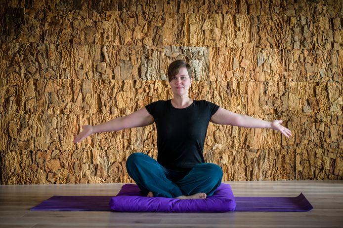 Lieve Deraeve van Mayoki wil de yogacentra snel weer open.
