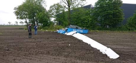 Bekende windmolen knakt en waait omver in Bant: 'Gelukkig ligt-ie keurig in het land'