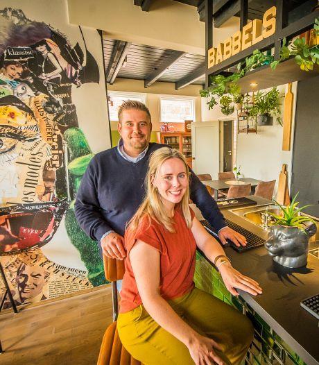 Het lijkt een nieuw grand café in Nijverdal maar dat is Babbels niet
