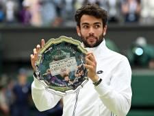 Matteo Berrettini, finaliste de Wimbledon, renonce aux Jeux en raison d'une blessure