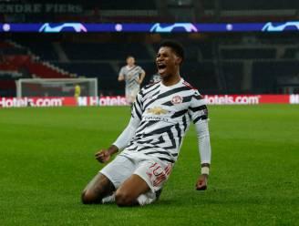 Rashford bezorgt Man United in extremis volle buit bij Paris Saint-Germain