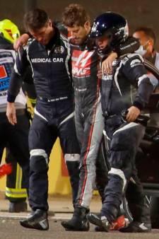 Grosjean gaat snel vooruit en wil starten in laatste GP van dit jaar