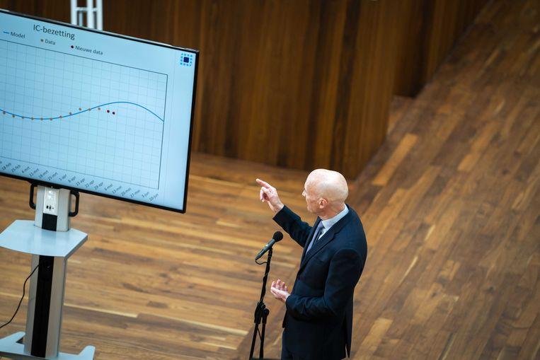 Ernst Kuipers, voorzitter van het Landelijk Netwerk Acute Zorg. Beeld EPA