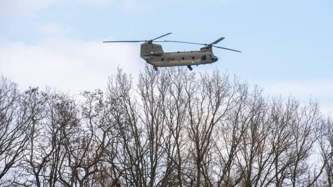 Defensie begint uniek onderzoek naar trillingen door Chinooks in woningen