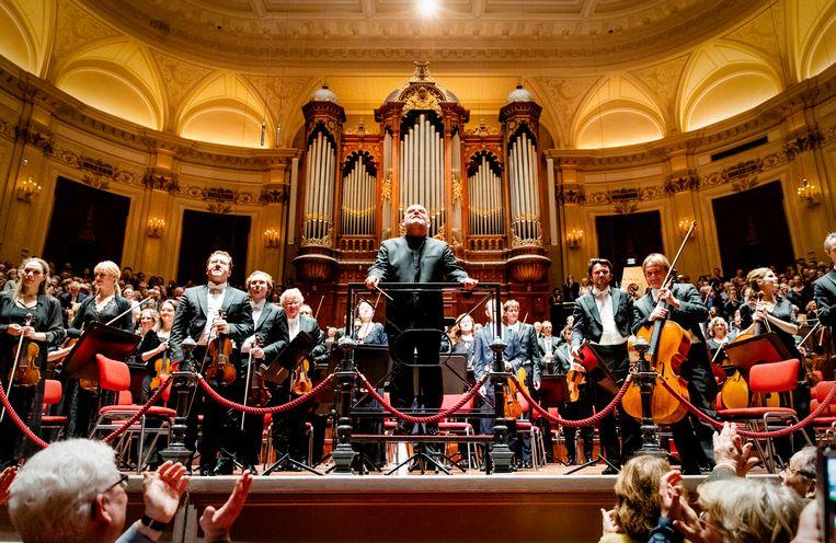 Het Concertgebouw in Amsterdam heeft net het Mahler Festival Online achter de rug, of het presenteert al de plannen voor een echt Mahler-festijn over een jaar. Beeld ANP