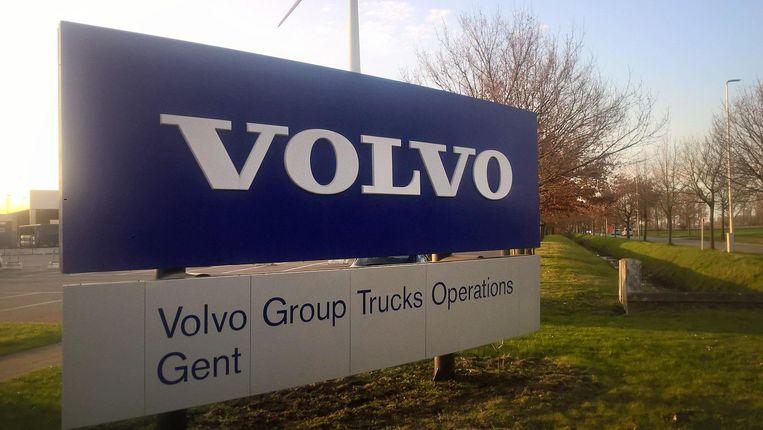 De afdeling van Volvo Trucks in Gent.
