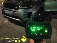 Automobilist scheurt met 167 kilometer per uur over Merwedebrug en moet rijbewijs én auto inleveren