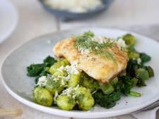 Wat Eten We Vandaag: Gnocchi met dillepesto en kabeljauw