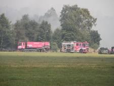 Extra sproeiers geplaatst aan randen van gebied Peelbrand in Liessel