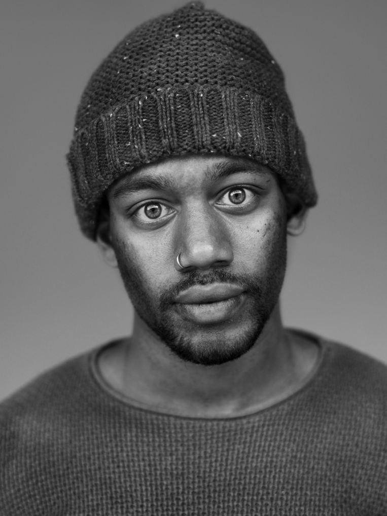 Jordan Parker (22) - Surinaams Beeld Stephan Vanfleteren