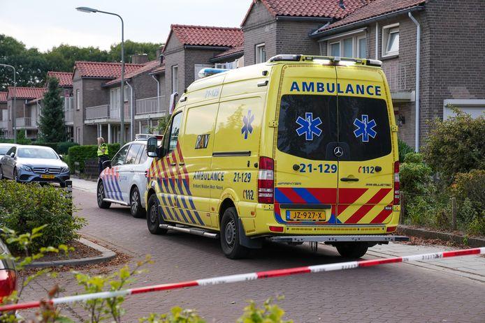 Een persoon raakte gewond bij het incident.