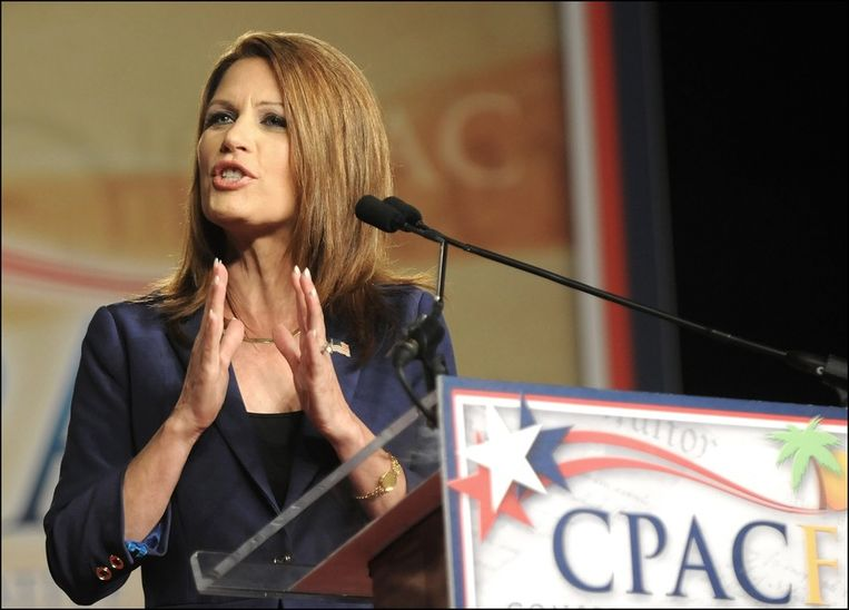 Michele Bachmann. Beeld UNKNOWN