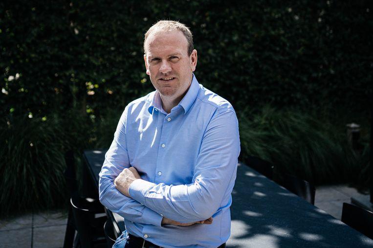 Marketingspecialist Steven Van Belleghem. Beeld Wouter Van Vooren