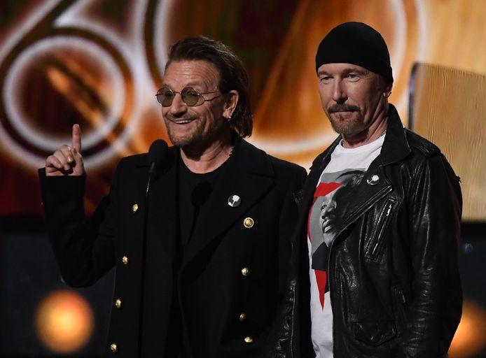 Bono en The Edge.