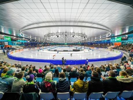 'Er mag veel niet, maar gelukkig kunnen we straks wel naar schaatsen kijken'