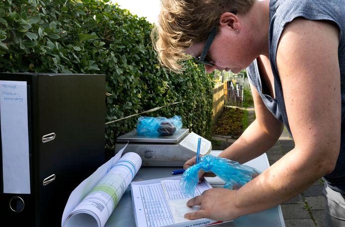 In september 2018 werden monsters genomen van gewassen uit de moestuintjes aan de Sluisdijk in Helmond.