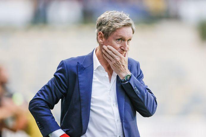Zulte Waregem-coach Francky Dury.