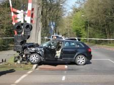 Treinverkeer Putten - Harderwijk hervat na botsing met auto bij Ermelo