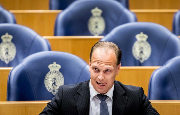Roy van Aalst  zit voor de PVV in de Tweede Kamer.