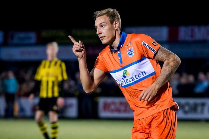 Spelfragment uit de wedstrijd DVS'33 - PEC Zwolle. Foto: ProShots