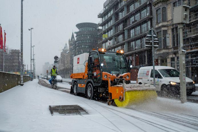 Op 22 januari 2019 viel er heel wat sneeuw in Antwerpen. Of dat dit weekend ook zo zal zijn valt nog af te wachten. De stadsdiensten staan alvast klaar.