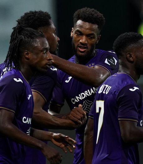 Anderlecht attend toujours sa première victoire, mais ramène un point d'Eupen