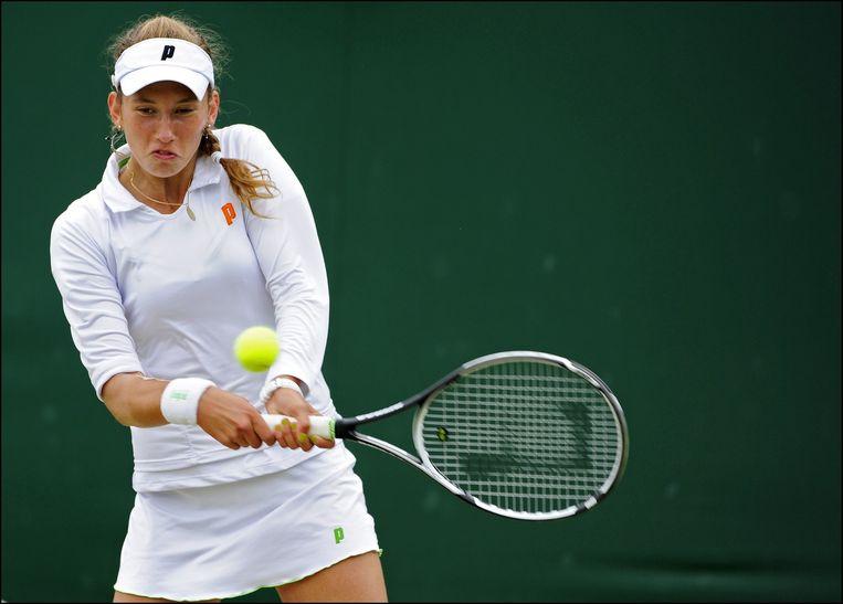 Het ITF-toernooi in Victoria was een absoluut succes voor Mertens Beeld photonews