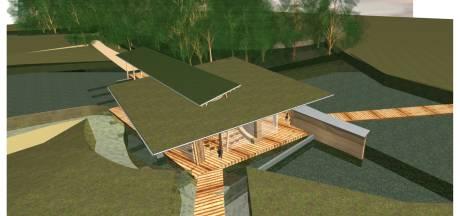 Nieuw paviljoen moet pareltje worden na forse uitbreiding natuurbegraafplaats