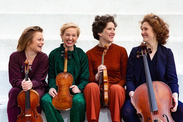 Het Ragazze Quartet geeft zaterdag eenmalig een concert in de Bethlehemkerk. Beeld