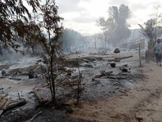 Myanmarese leger steekt volledig dorp in brand