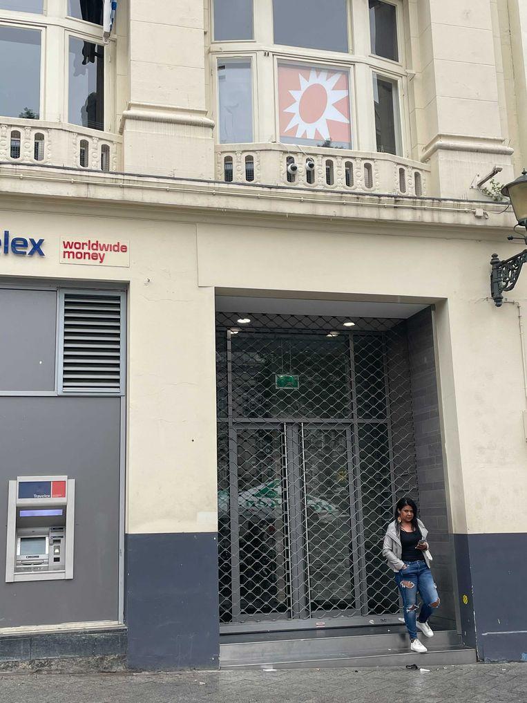 De studio van RTL Boulevard is zaterdagmiddag ontruimd wegens ernstige dreiging. Beeld Het Parool
