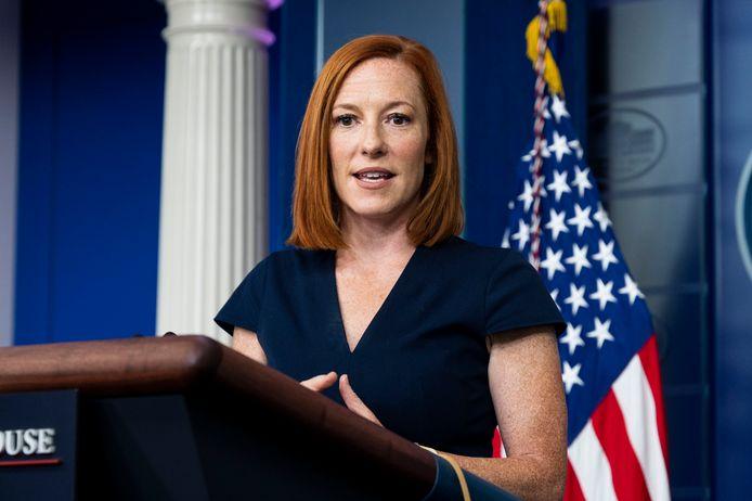 Witte Huis-woordvoerster Jen Psaki.