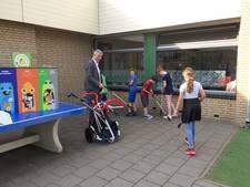 Leerlingen De Bolster in Sint-Michielsgestel gaan (zwerf)afval te lijf